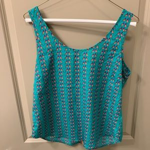 Women's Boutique Tank Top, small